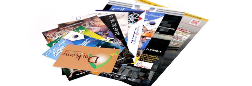 Impression de flyers