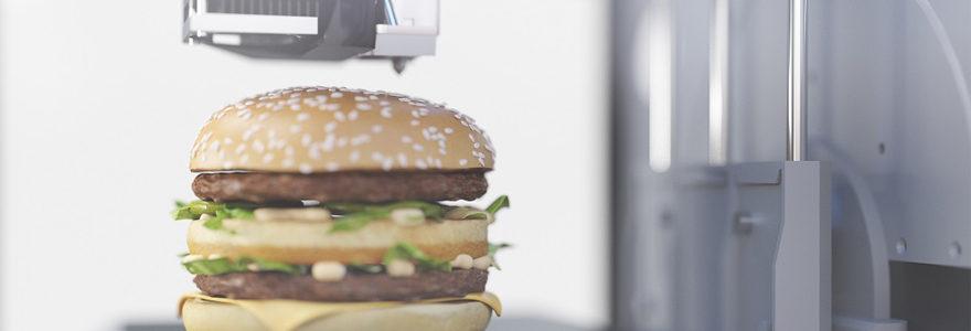 imprimantes alimentaires 3D